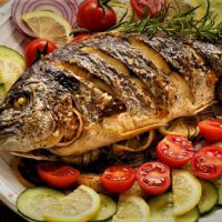 طرز تهیه ماهی شکم پر بدون فر به روش جنوبی