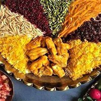 طرز تهیه مرصع پلو شیرازی