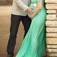 برای عکس دوران بارداری چه رنگ هایی بپوشیم؟