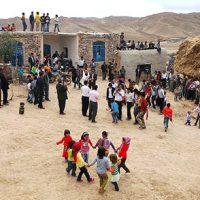 مراسم عروسی با آرزوی داشتن هفت پسر