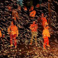 مراسم چهارشنبه سوری در مازندران