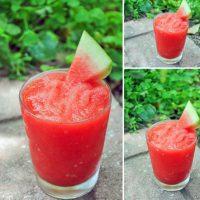 طرز تهیه یخ در بهشت هندوانه