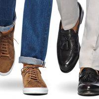 کفش های مناسب با شلوار جین