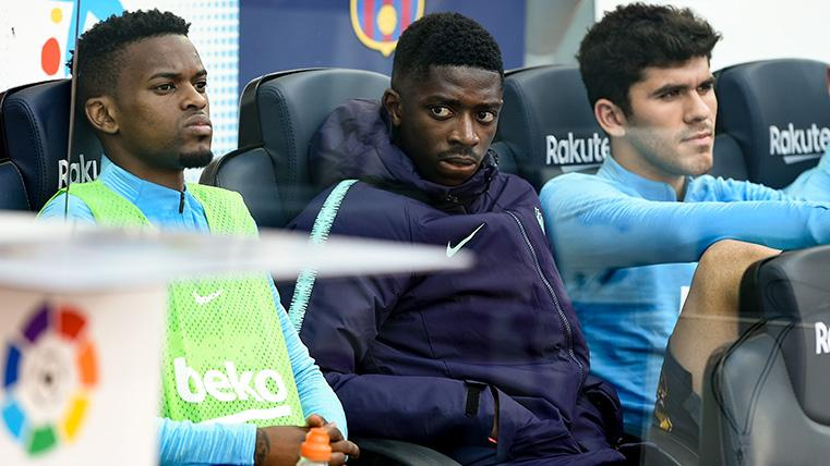 The FC Barcelona has Ousmane Dembélé and follows hinting in Twitter