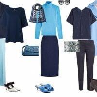 راهنمای ست کردن لباس سرمه ای خانم ها