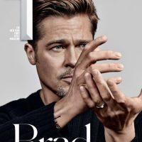 جدیدترین عکس های برد پیت Brad Pitt روی مجله تی T