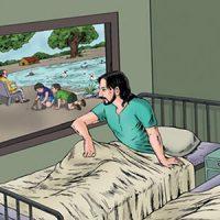 داستان کوتاه پنجره بیمارستان و دو بیمار